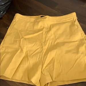 Yellow theory shorts for summer